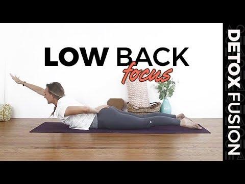 Detox Yoga Fusion Day 12: Lower Back Strengthening Vinyasa + Yin Yoga (40-Min)