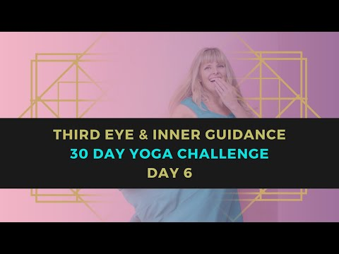 Yoga for the Third Eye Chakra 30 Day Yoga Challenge // Day 6