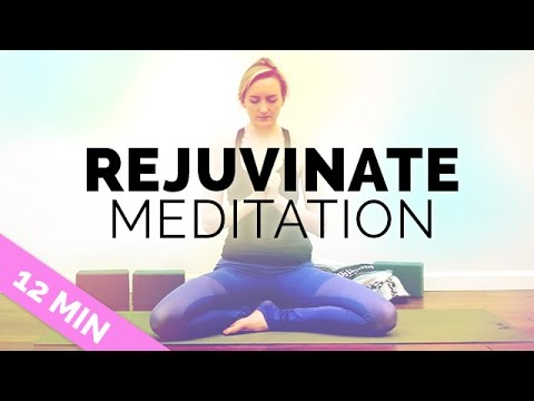 Rejuvenating Meditation for Stress and Anxiety Relief (12 min) – Yoga for Stress and Fatigue