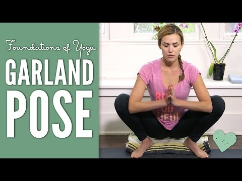Garland Pose – Foundations of Yoga