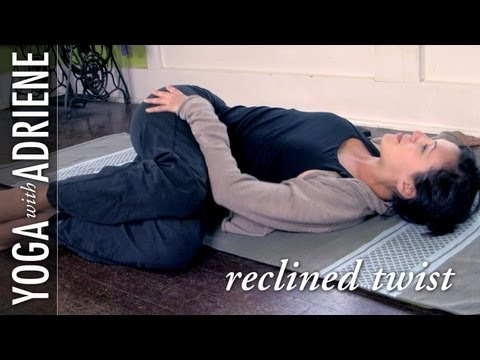 Reclined Twist Yoga Pose – Yoga With Adriene