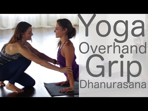 30 Minute Yoga Flow Vinyasa Yoga Overhand Grip (Bow) with Shireen Kaviani | Fightmaster Yoga Videos