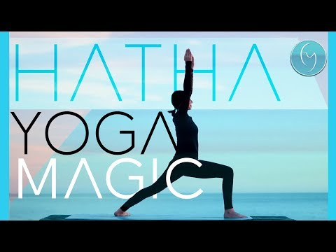 45 Minute Hatha Yoga to Magically Feel Your Best (Be Joyful)