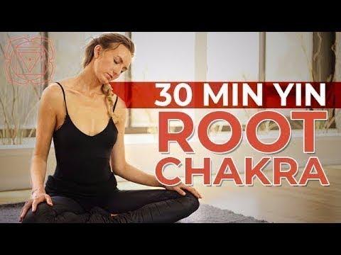 Root Chakra Yin Yoga – Calming, Relaxing, & Grounding Sequence