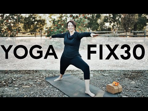 Yoga Fix 30 – 30 Days of 20 Minute Yoga Videos | Fightmaster Yoga Videos