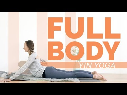 Full Body Yin Yoga 1 Hour – Grounding Techniques | Root Chakra