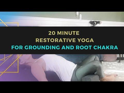 20 Minute Restorative Yoga // Root Chakra