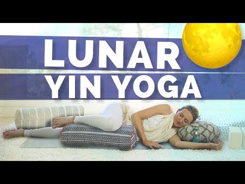 Full Moon/Lunar Eclipse Yoga Practice for Women – 45 Min Yin Yoga