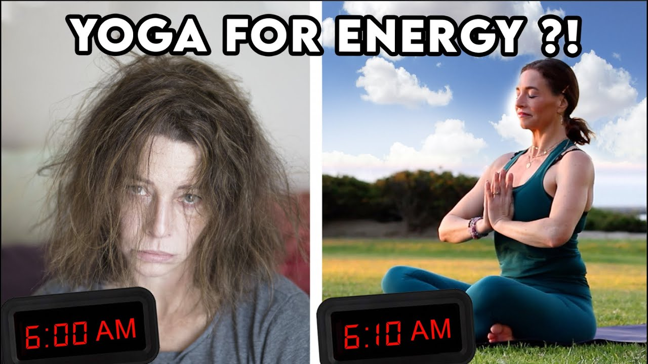 Yoga For Energy Better Than Coffee 10-min Morning Wake up