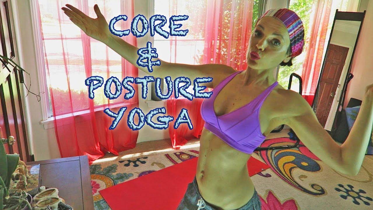 Posture Core Interval Yoga Fusion Workout Calorie Burn Ballet Barre