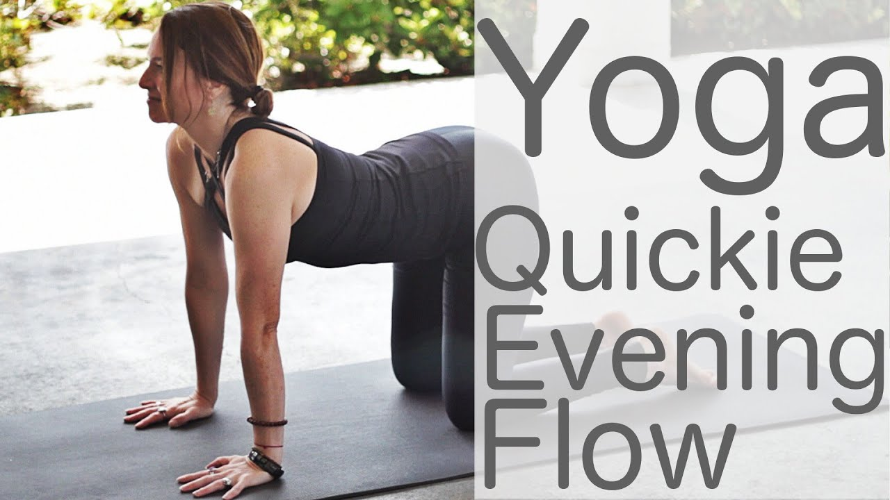 10 Minute Yoga Quickie Bedtime Night Flow Fightmaster Yoga Videos