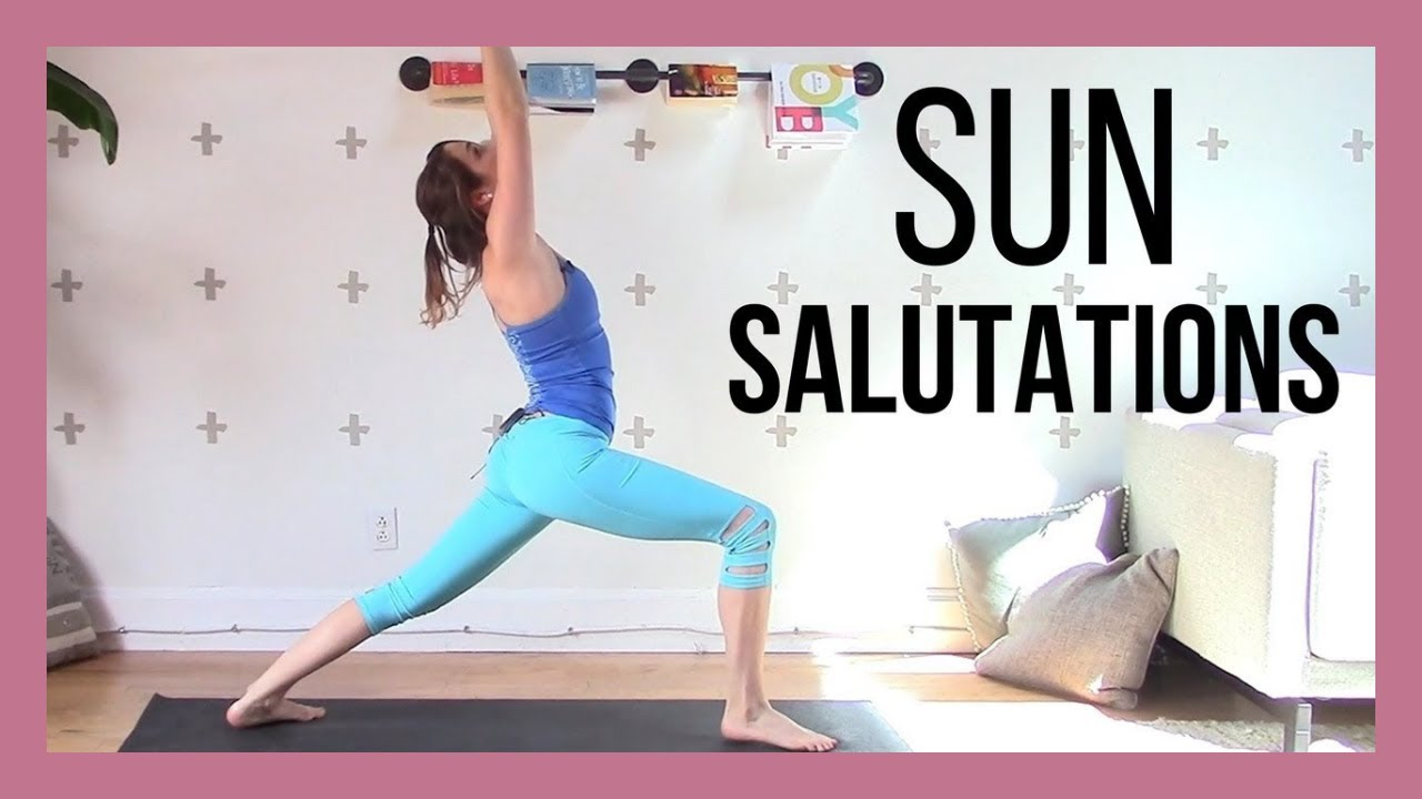 1 Hour Beginner Sun Salutations