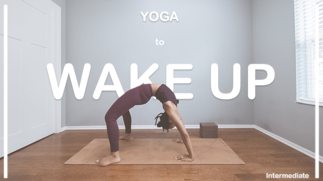 WAKE UP YOGA!  | 45 Min | Intermediate Level | POWER VINYASA