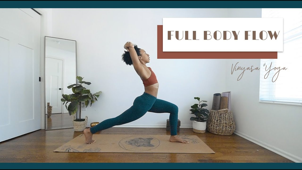 15 Min FULL BODY Flow to START THE WEEK strong!  Bright and Salted Yoga