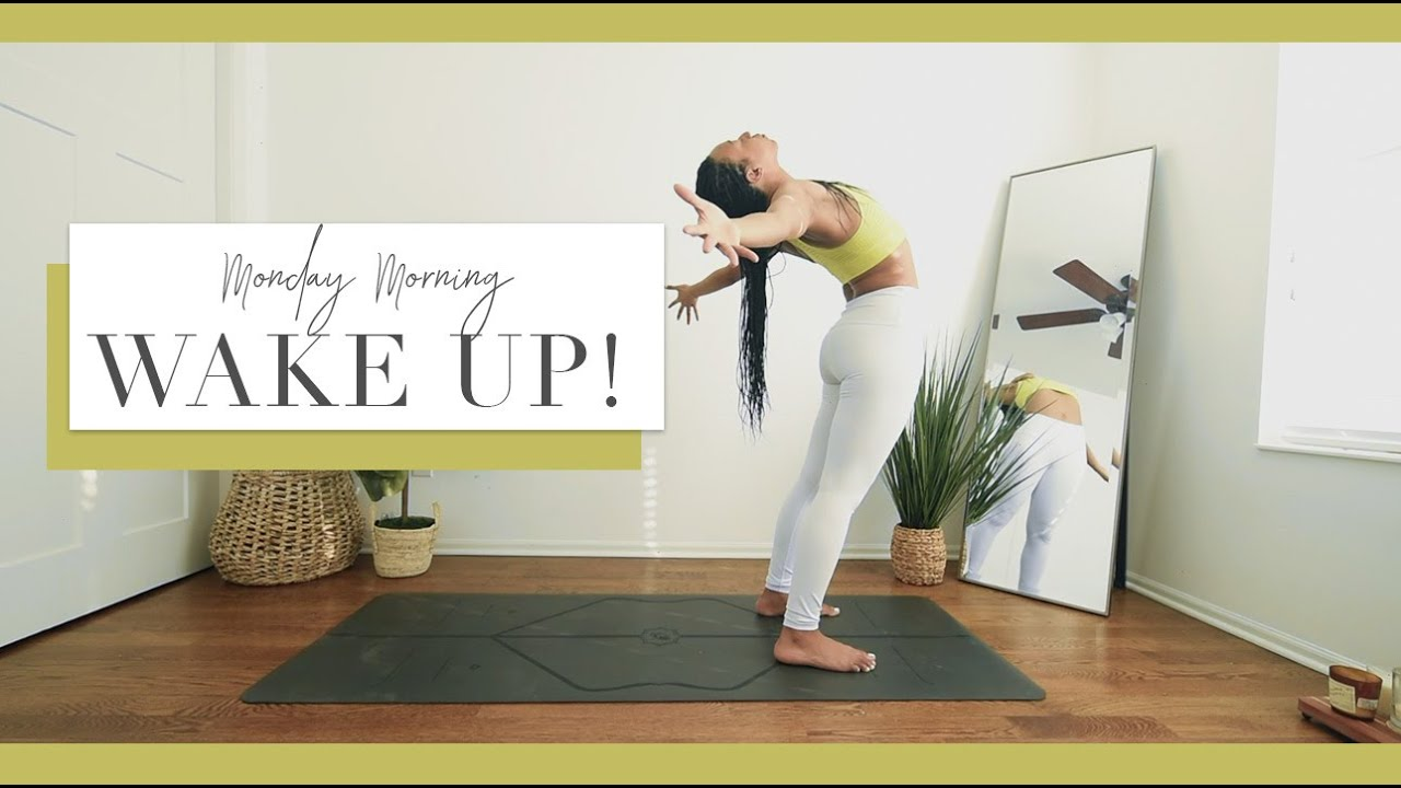 Monday Morning WAKE UP Yoga! | Gentle Warm Up, Gentle Heat Building ️