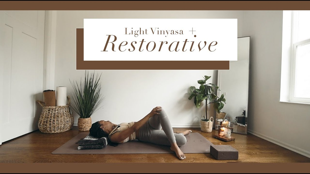 35 Min · RESTORATIVE YOGA  | *Ambient Music*